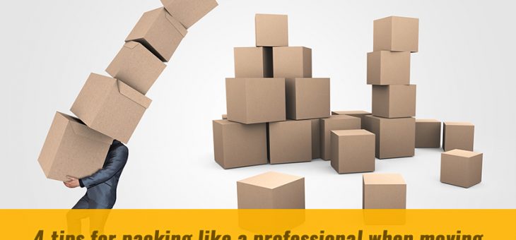 Four Tips For Packing Like A Professional When Moving